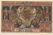 25 Pfennig (Neustadt bei Coburg) – revers