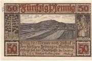 50 Pfennig (Neustadt bei Coburg) – avers