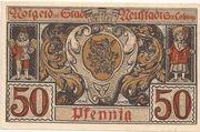 50 Pfennig (Neustadt bei Coburg) – revers