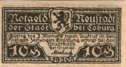 10 Pfennig (Neustadt bei Coburg) – avers