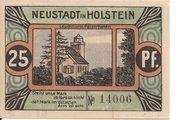 25 Pfennig (Neustadt i. Holstein) – revers