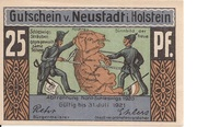 25 Pfennig (Neustadt i. Holstein) – avers