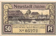 50 Pfennig (Neustadt i. Holstein) – revers