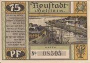 75 Pfennig (Neustadt i. Holstein) – revers