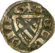 Denier - Eudes de Bourgogne (1262-1265) – avers