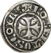 Denier - Robert de Dampierre (1271-1296) – avers