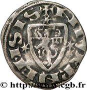 Denier - Robert de Dampierre (1271-1296) – revers