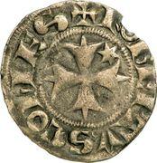 Denier - Robert de Dampierre (1272-1296) – avers