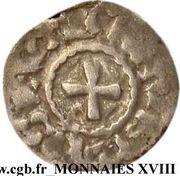 Obole - monnayage immobilisé au nom de Louis IV d'Outremer – revers