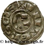 Denier nivernais (2nd type) - Hervé de Donzy – revers