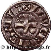 Denier - Hervé de Donzy (1199-1223) – revers