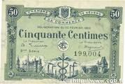 50 centimes - Chambre de Commerce de Nevers [58] (3e-4e séries) – avers