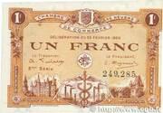 1 franc - Chambre de Commerce de Nevers [58] (3e-4e série) – avers
