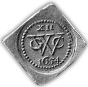 XII Stuivers – avers