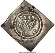 XXXX Stuivers (Geoctroyeerde Westindische Compagnie) – avers