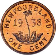 1 Cent - George VI -  avers