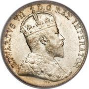 5 Cents - Edouard VII – avers