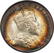 10 cents Edouard VII – avers