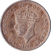 10 cents George VI – avers