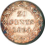 20 cents Victoria – revers