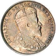 20 cents Edouard VII – avers