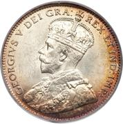 20 cents George V – avers