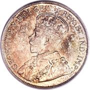 50 cents George V -  avers