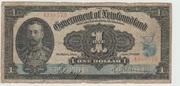 Canada Newfoundland Treasury Note 1920 – avers