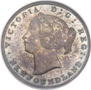 5 Cents - Victoria (Essai) – avers