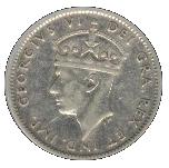 10 cents George VI – avers