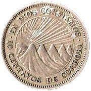 10 centavos de córdoba -  revers