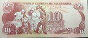 10 Córdobas – revers