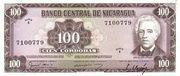 100 Cordobas – avers