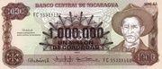 1,000,000 Cordobas (overprinted on 1,000 Cordobas) – avers