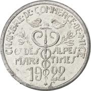 5 centimes - Chambre de Commerce - Nice [06] – avers