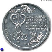 10 Centimes Chambre de Commerce de NICE & A-M [06] – avers