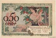 50 centimes - Chambre de Commerce de Nice et des Alpes Maritimes [06] – avers