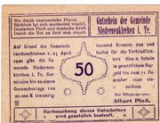50 Heller (Niederneukirchen) -  avers