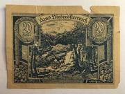20 Heller (Niederösterreich) – avers