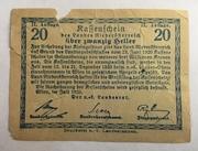 20 Heller (Niederösterreich) – revers