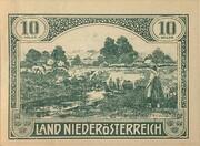 10 Heller (Niederösterreich) – avers