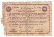 50 Heller (Niederösterreich) – avers