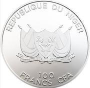 100 Francs CFA (Boussole de La Mecque) – avers
