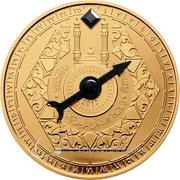 100 Francs CFA (Mecca Compass) – revers