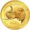 100 Francs CFA (Elephant) – revers