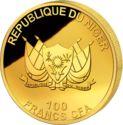 100 Francs CFA (Buffalo) – avers