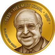 100 Francs CFA (Helmut Kohl) – revers