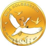 100 Francs CFA (Nils Holgersson) – revers