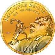 100 Francs CFA (Gulliver's Travels) – revers