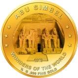 100 Francs CFA (Abu Simbel) – revers